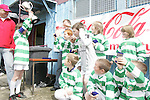 Donacarney Gladiators Under10s celebrate victory at the School Childrens Soccer Cup Finals in United Park...Photo NEWSFILE/Jenny Matthews.(Photo credit should read Jenny Matthews/NEWSFILE)....This Picture has been sent you under the condtions enclosed by:.Newsfile Ltd..The Studio,.Millmount Abbey,.Drogheda,.Co Meath..Ireland..Tel: +353(0)41-9871240.Fax: +353(0)41-9871260.GSM: +353(0)86-2500958.email: pictures@newsfile.ie.www.newsfile.ie.FTP: 193.120.102.198.