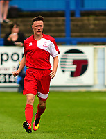 Lincoln City's Richie Burdett<br /> <br /> Photographer Andrew Vaughan/CameraSport<br /> <br /> Pre-Season Friendly - Gainsborough Trinity v Lincoln City - Saturday 15th July 2017 - The Gainsborough Martin &amp; Co Arena - Gainsborough<br /> <br /> World Copyright &copy; 2017 CameraSport. All rights reserved. 43 Linden Ave. Countesthorpe. Leicester. England. LE8 5PG - Tel: +44 (0) 116 277 4147 - admin@camerasport.com - www.camerasport.com