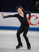 24th March 2018, Mediolanum Forum, Milan, Italy;  Nathan CHEN (USA) during the ISU World Figure Skating Championships, Men Free Skating at Mediolanum Forum in Milan, Italy