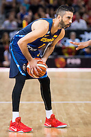 Spain's basketball player Juan Carlos Navarro during the  match of the preparation for the Rio Olympic Game at Madrid Arena. July 23, 2016. (ALTERPHOTOS/BorjaB.Hojas) /NORTEPHOTO.COM