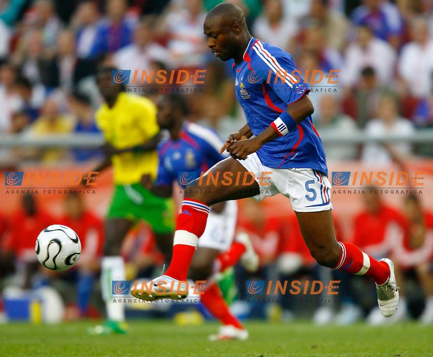 Colonia 23/6/2006 World Cup 2006.Togo Francia 0-2.Photo Andrea Staccioli Insidefoto.William Gallas Francia