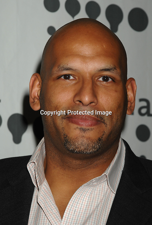 Basketball player John Amaechi..arriving at The 18th annual GLAAD Media Awards on March 26, 2007 at The Marriott Marquis Hotel in New York...Robin Platzer, Twin Images