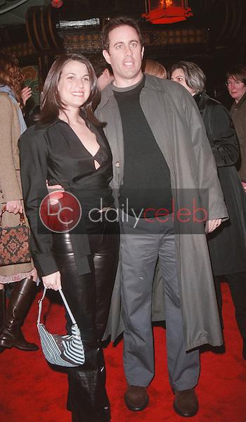 Jerry Seinfeld and wife Jessica Sklar