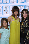 "Young and Restless, Gladise Ramirez ""Ramona"" and daughter Simone and Kate Linder attend The Premiere Book Signing of ""It's All About Dorothy"" - a wonderful new children's book and song which includes a cd telling the story of ""The Wizard of Oz"" on April 10, 2011 at Chevalier's Books, Los Angeles, California. (Photos by Sue Coflin/Max Photos)"