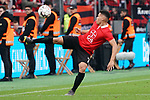 11.05.2019, BayArena, Leverkusen, GER, 1. FBL, Bayer 04 Leverkusen vs. FC Schalke 04 ,<br />  <br /> DFL regulations prohibit any use of photographs as image sequences and/or quasi-video<br /> <br /> im Bild / picture shows: <br /> Paulinho (Leverkusen #7), <br /> <br /> Foto &copy; nordphoto / Meuter
