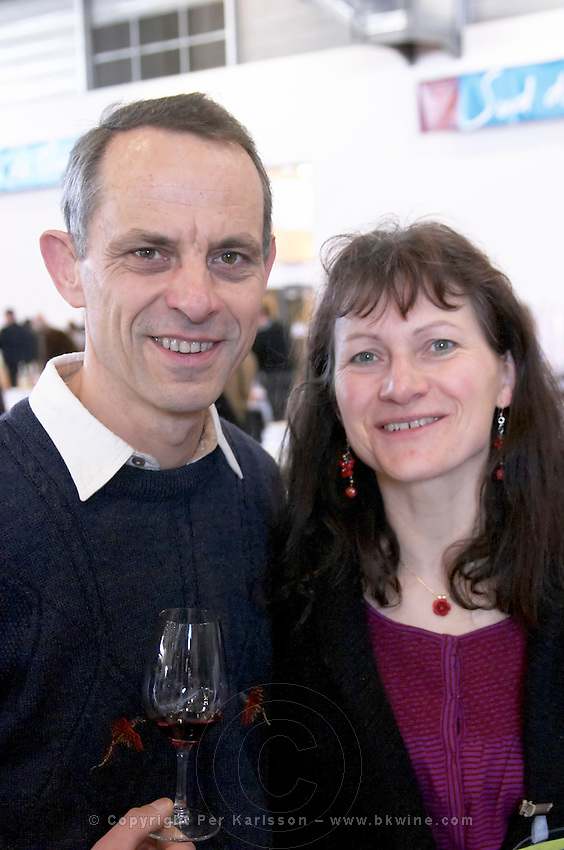jean pierre and chantal frick owner domaine pierre frick pfaffenheim alsace france