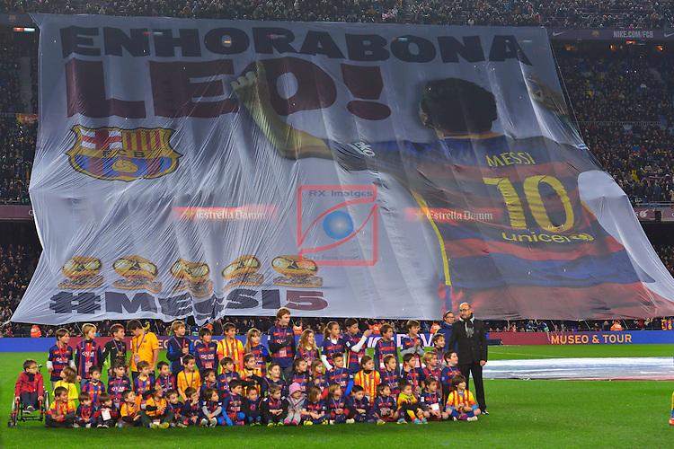League BBVA 2015/2016 -Game: 20.<br /> FC Barcelona vs Athletic Club: 6-0.