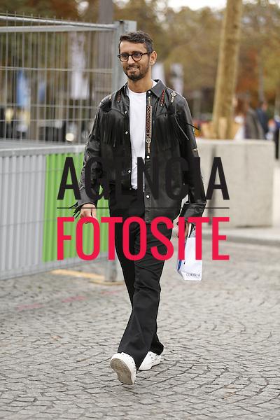 Street Style<br /> <br /> Paris - Verao 2017<br /> <br /> Outubro 2016<br /> <br /> Leo Faria/FOTOSITE