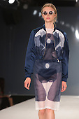 Collection by Kelly McGrail from Northumbria University Newcastle. Graduate Fashion Week 2014, Runway Show at the Old Truman Brewery in London, United Kingdom. Photo credit: Bettina Strenske