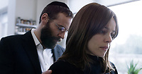 DISOBEDIENCE (2017)<br /> ALESSANDRO NIVOLA, RACHEL McADAMS<br /> *Filmstill - Editorial Use Only*<br /> CAP/FB<br /> Image supplied by Capital Pictures