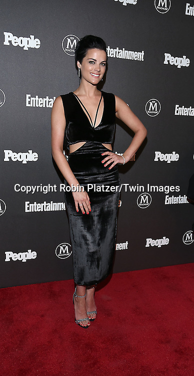 Jaimie Alexander attends the Entertainment Weekly &amp; PEOPLE Magazine New York Upfronts Celebration on May 16, 2016 at Cedar Lake in New York, New York, USA.<br /> <br /> photo by Robin Platzer/Twin Images<br />  <br /> phone number 212-935-0770