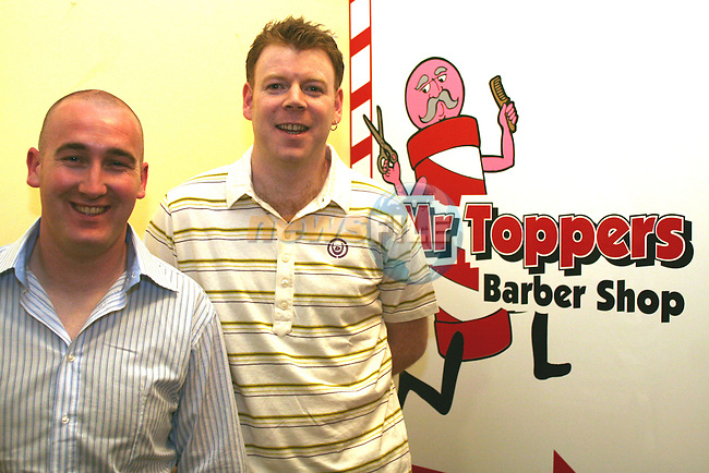 Mr Toppers Barber Shop, Shop Street, Drogheda..Photo NEWSFILE/Jenny Matthews.(Photo credit should read Jenny Matthews/NEWSFILE)....This Picture has been sent you under the condtions enclosed by:.Newsfile Ltd..The Studio,.Millmount Abbey,.Drogheda,.Co Meath..Ireland..Tel: +353(0)41-9871240.Fax: +353(0)41-9871260.GSM: +353(0)86-2500958.email: pictures@newsfile.ie.www.newsfile.ie.FTP: 193.120.102.198.