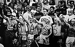 (Amherst, MA, 01/29/1993) Some 4,000 basketball fans pack the Curry Hicks Cage at UMass Amherst for the Final Rage in the Cage on January 29, 1993. The venue which in still in use was replaced by the more modern and much larger Mullins Center. Photo by Christopher Evans