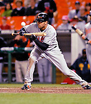 19 May 2007: Baltimore Orioles outfielder Nick Markakis in action against the Washington Nationals at RFK Stadium in Washington, DC. The Orioles defeated the Nationals 3-2 in the second game of the 3-game interleague series...Mandatory Photo Credit: Ed Wolfstein Photo