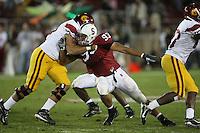 4 November 2006: Matt Kopa during Stanford's 42-0 loss to USC at Stanford Stadium in Stanford, CA.