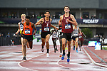 EUGENE, OR - JUNE 8: Sean McGorty and Grant Fisher of the Stanford Cardinal finish first and second in the 5000 meter run during the Division I Men's Outdoor Track & Field Championship held at Hayward Field on June 8, 2018 in Eugene, Oregon. (Photo by Jamie Schwaberow/NCAA Photos via Getty Images)