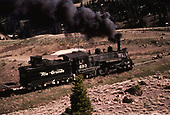 D&amp;RGW #493 passing the camera on the way to Cumbres.<br /> D&amp;RGW  w. of Cumbres, CO