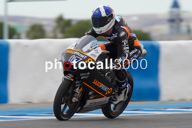 Jerez Moto2 & Moto3 during the winter reason <br /> john mcphee<br /> PHOTOCALL3000