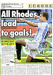 The Sun.Huddersfield Town v Preston.Page 22 Football supplement.24th October 2011