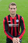 Ally Gilchrist, St Johnstone FC...Season 2014-2015<br /> Picture by Graeme Hart.<br /> Copyright Perthshire Picture Agency<br /> Tel: 01738 623350  Mobile: 07990 594431