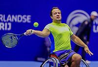Rotterdam, Netherlands, December 15, 2017, Topsportcentrum, Ned. Loterij NK Tennis, Wheelchair  Tom Egberink (NED) <br /> Photo: Tennisimages/Henk Koster