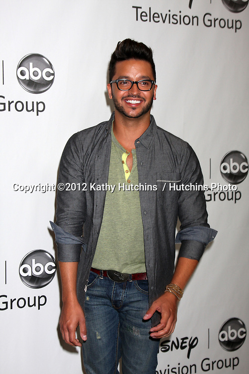 LOS ANGELES - JUL 27:  Jai Rodriguez arrives at the ABC TCA Party Summer 2012 at Beverly Hilton Hotel on July 27, 2012 in Beverly Hills, CA