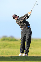 Sem Westdijk (Netherlands) on the 12th tee during Round 3 of The Irish Amateur Open Championship in The Royal Dublin Golf Club on Saturday 10th May 2014.<br /> Picture:  Thos Caffrey / www.golffile.ie