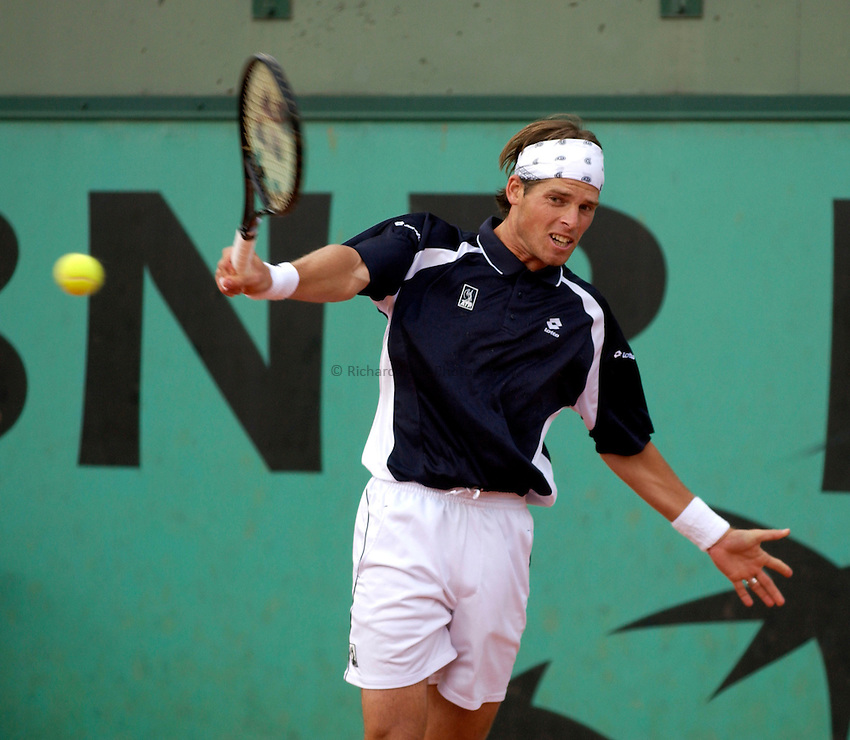 Photo. Jed Wee..French Open Tennis Championships, Rolland Garros, Paris, France. 26/05/2003..Attila Savolt.