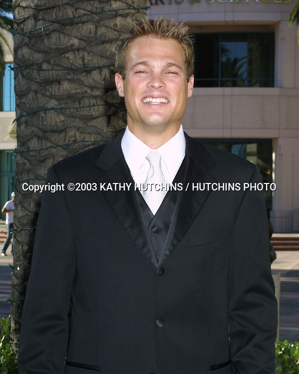 ©2003 KATHY HUTCHINS / HUTCHINS PHOTO.LOS ANGELES AREA EMMYS - LOCAL.TELEVISION ACADEMY THEATER.NO. HOLLYWOOD, CA.SEPTEMBER 6, 2003..GEORGE STULTS