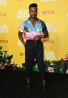 "01 August 2019 - Los Angeles, California - Marque Richardson. Netflix's ""Dear White People"" Season 3 Los Angeles Premiere held at TRegal Cinemas LA Live. Photo Credit: Birdie Thompson/AdMedia"