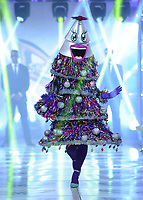 """BEVERLY HILLS - SEPTEMBER 10:  The Tree at the Season two premiere event for FOX's """"The Masked Singer"""" at The Bazaar at the SLS Beverly Hills on September 10, 2019 in Beverly Hills, California. (Photo by Scott Kirkland/FOX/PictureGroup)"""