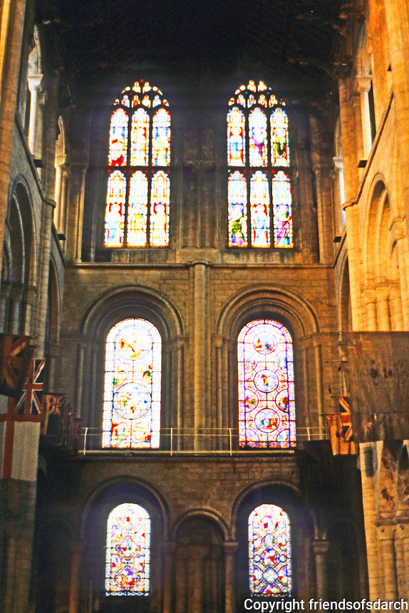 Ely: Ely Cathedral--West Tower, Interior. Photo '90.