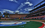 12 August 2012:  An HDR image made up of 8 frames done at Camden Yards in Baltimore, MD. where Baltimore Orioles defeated the Kansas City Royals, 5-3.