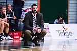 S&ouml;dert&auml;lje 2014-04-26 Basket SM-final S&ouml;dert&auml;lje Kings - Norrk&ouml;ping Dolphins :  <br /> Norrk&ouml;ping Dolphins tr&auml;nare coach Paul Burke <br /> (Foto: Kenta J&ouml;nsson) Nyckelord:  S&ouml;dert&auml;lje Kings SBBK Norrk&ouml;ping Dolphins SM-final Final T&auml;ljehallen portr&auml;tt portrait
