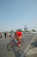 """Wang Fengnian, China - #145 -2'27"""" -- 2011 Tour of Beijing, Stage 1 ITT"""
