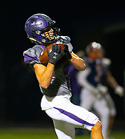 Fayetteville wide receiver Connor Flannigan (2) on his way to score a touchdown after a long pass from Hank Gibbs against Rogers Heritage at Gates Stadium, Rogers, AR on November 1, 2019 / Special to NWA Democrat Gazette David Beach