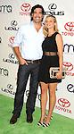 BURBANK, CA - SEPTEMBER 29: Carter Oosterhouse and Amy Smart arrive at the 2012 Environmental Media Awards at Warner Bros. Studios on September 29, 2012 in Burbank, California.