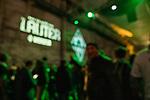 """07.02.2019, Alte Werft, Bremen, GER, 1.FBL, 120 Jahre SV Werder Bremen - 120 Jahre Lauter - das Konzert<br /> <br /> im Bild<br /> Jonny Otten """"versteckt sich"""", Unschärfe, <br /> <br /> Der Fussballverein SV Werder Bremen feiert sein 120-jähriges Bestehen. In der Alten Werft Bremen findet anläßlich des Jubiläums ein Konzert für Fans statt. <br /> <br /> Foto © nordphoto / Ewert"""