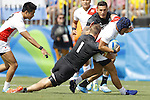 Masakatsu Hikosaka (JPN),<br /> AUGUST 9, 2016 - / Rugby Sevens : <br /> Men's Pool Round <br /> between New Zeland 12-14 Japan <br /> at Deodoro Stadium <br /> during the Rio 2016 Olympic Games in Rio de Janeiro, Brazil. <br /> (Photo by Yusuke Nakanishi/AFLO SPORT)