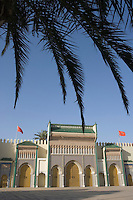 Afrique/Afrique du Nord/Maroc/Fèz/Fèz-el-Jédid: Portes du Palais Royal