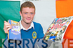 REPRESENTING IRELAND: Transition Year students Ben McGilton has been selected to represent Ireland this September at the European Youth Parliament..