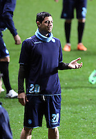 Blerim Dzemaili of Napoli during training
