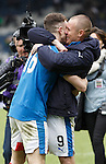 Andy Halliday and Kenny Miller