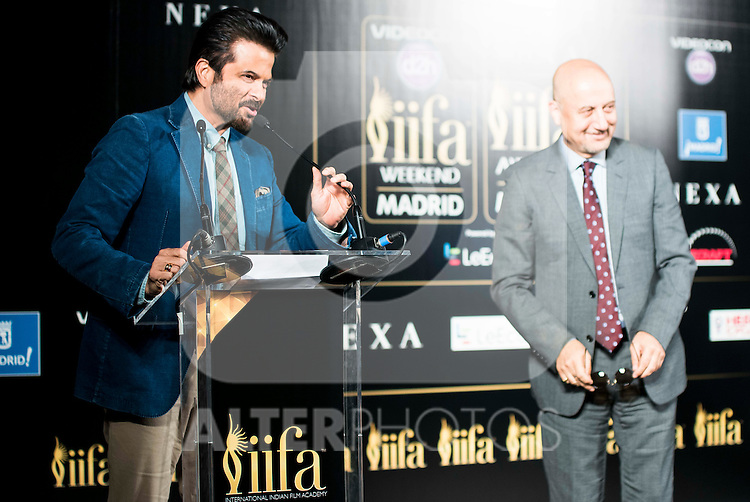 XXX during the presentation of the IIFA Awards in Madrid. June 23, 2016. (ALTERPHOTOS/BorjaB.Hojas)
