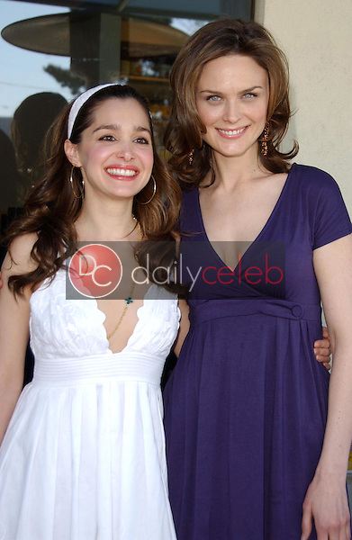 Gina Phillips and Emily Deschanel<br />