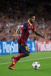 UEFA Champions League 2013/2014.<br /> FC Barcelona vs AFC Ajax: 4-0 - Game: 1.<br /> Dani Alves.