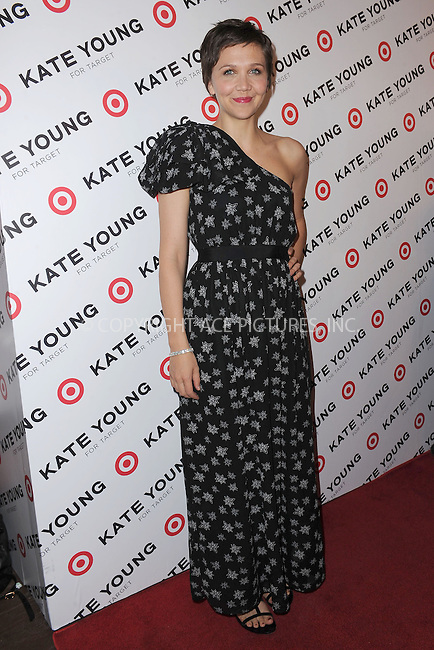 WWW.ACEPIXS.COM . . . . . .April 9, 2013...New York City....Maggie Gyllenhaal attends the Kate Young For Target Launch at The Old School NYC on April 9, 2013 in New York City ....Please byline: KRISTIN CALLAHAN - ACEPIXS.COM.. . . . . . ..Ace Pictures, Inc: ..tel: (212) 243 8787 or (646) 769 0430..e-mail: info@acepixs.com..web: http://www.acepixs.com .