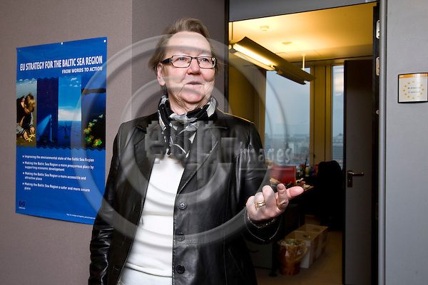 BRUSSELS - BELGIUM - 15 JANUARY 2010 -- MEP Marit PAULSEN, (Swe) Group of the Alliance of Liberals and Democrats for Europe. -- PHOTO: Juha ROININEN / EUP-IMAGES
