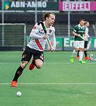 AMSTELVEEN -  Rik van Kan (Adam)   tijdens de hoofdklasse competitiewedstrijd heren, AMSTERDAM-ROTTERDAM (2-2). COPYRIGHT KOEN SUYK