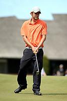 Scott Hellier during the New Zealand Amateur Golf Championship at Russley Golf Course, Christchurch, New Zealand. Friday 3 November 2017. Photo: Martin Hunter/www.bwmedia.co.nz